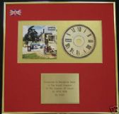 OASIS - CD Album Award - BE HERE NOW